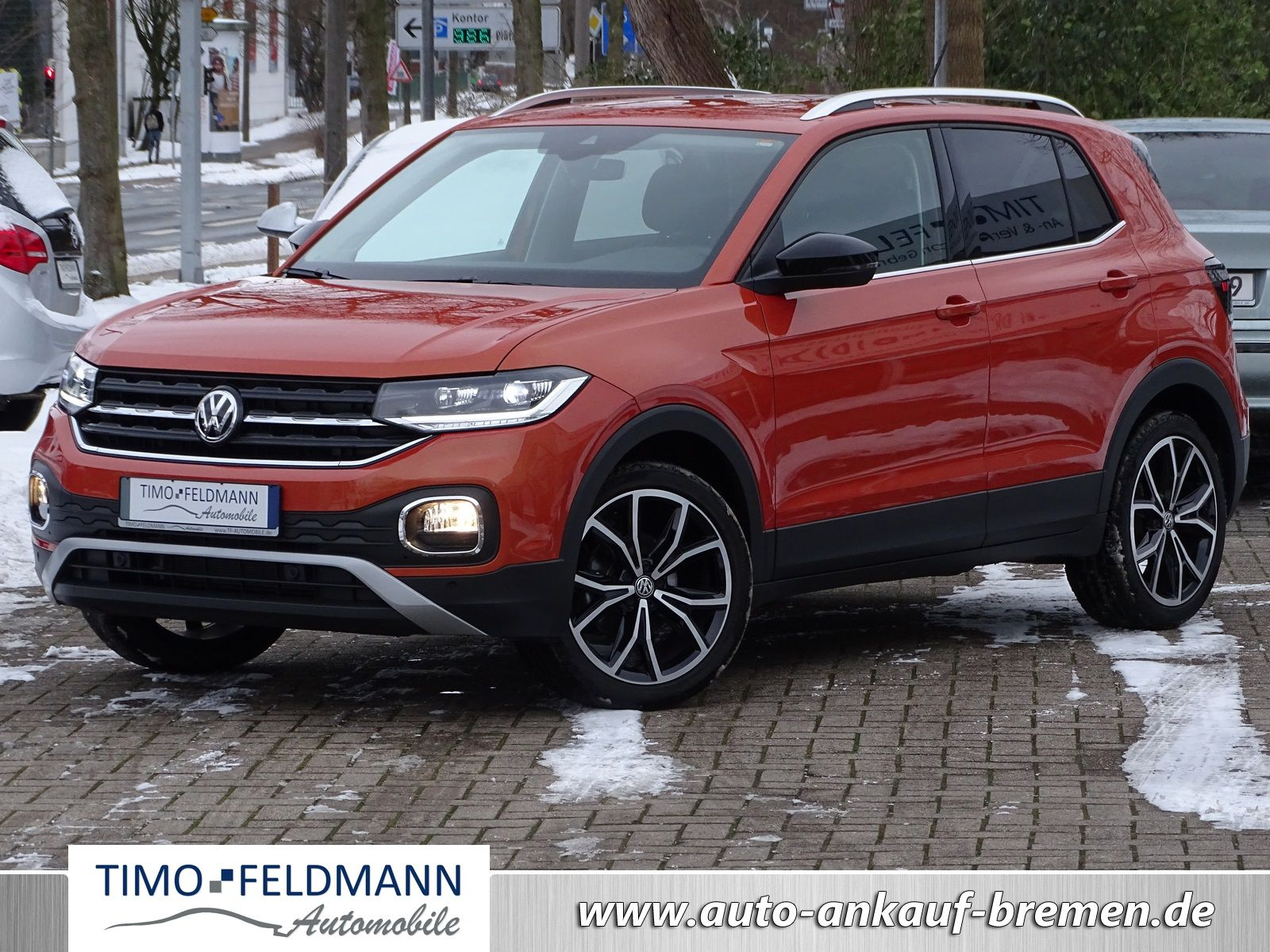VW T-Cross 1.0 DSG | € 21.950,-